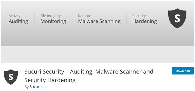 Sucuri Security on WordPress.org