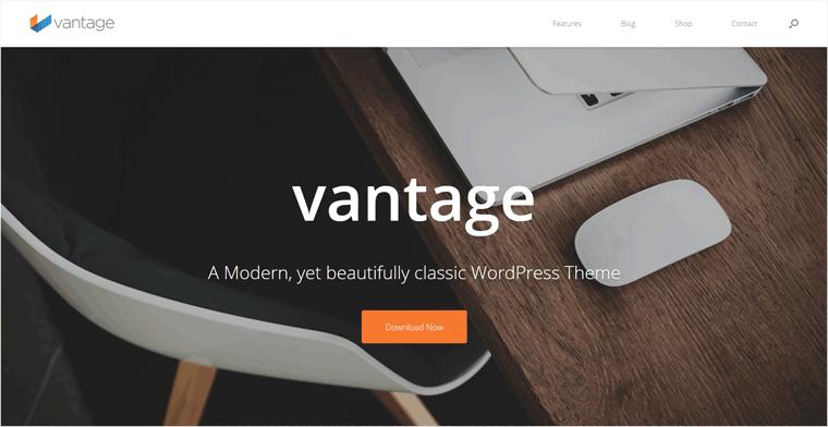 Vantage Free WordPress Theme
