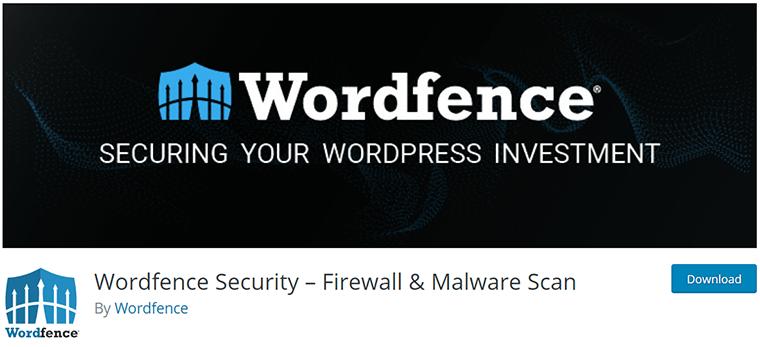 Wordfence Security on WordPress.org