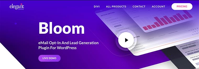 Bloom - Popular WordPress lead generation plugin