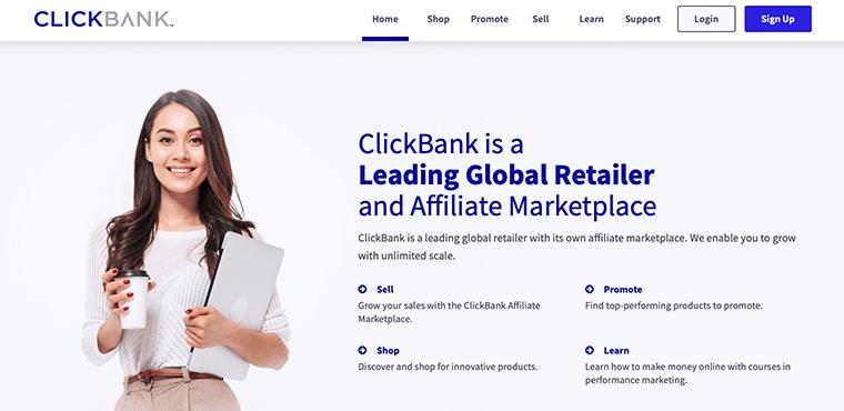 ClickBank - Affiliate Marketing Tool