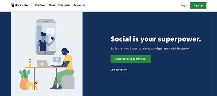 Hootsuite - Digital Marketing Tool