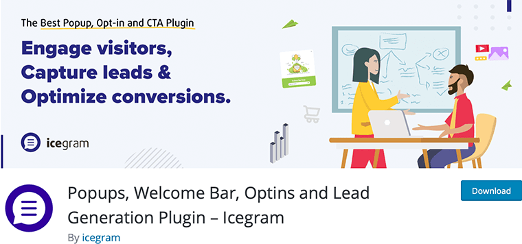 Icegram - free WordPress lead generation plugin