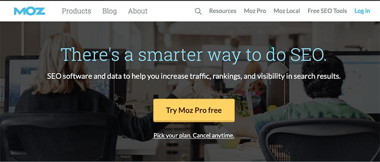 Moz - Digital Marketing Tool