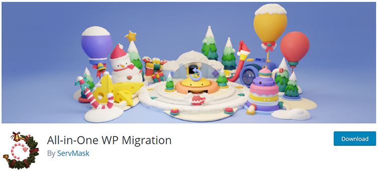 All-in-One WP Migration WordPress Migration Plugin