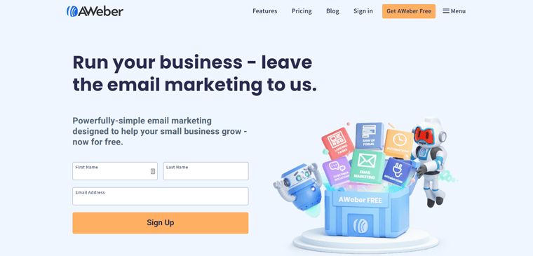 AWeber Tool For Email Marketing