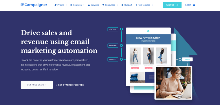 Campaigner Email Marketing Automation Tool