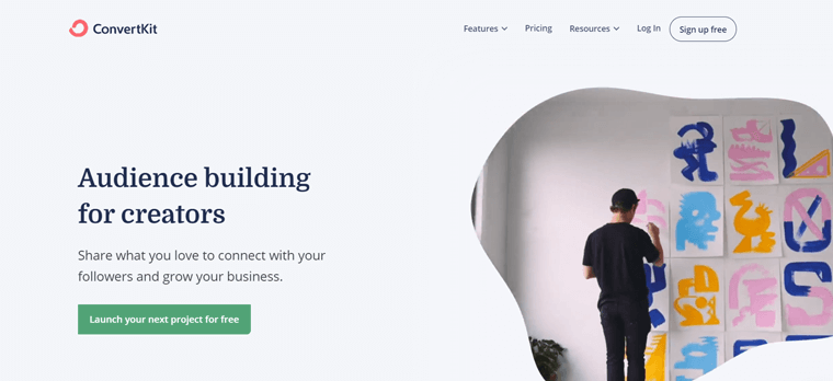 ConvertKit Email Marketing Tool for Online Creators
