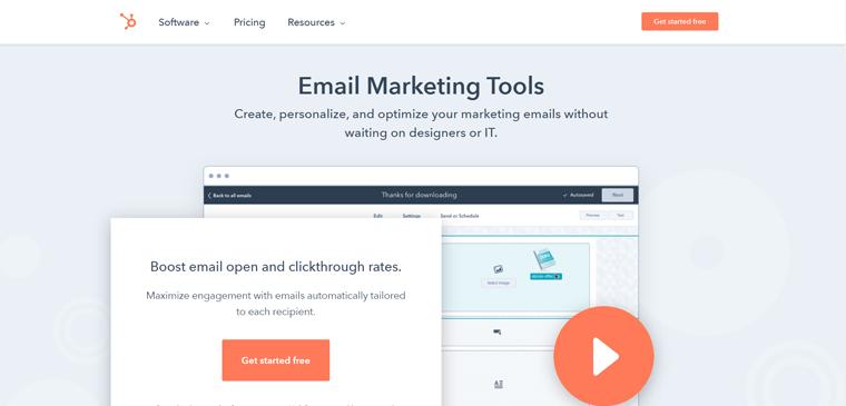 HubSpot Email Marketing Tools