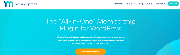 Best WordPress Membership Plugin 'MemberPress'