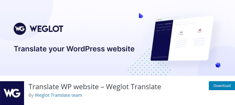 Weglot Translate WordPress Plugin for Multilingual Sites