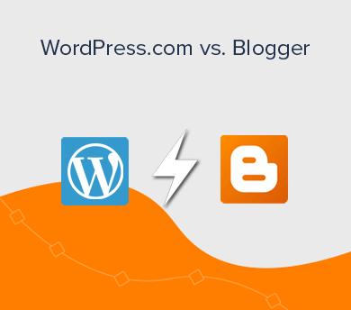 Blogger vs WordPress.com Full Comparison