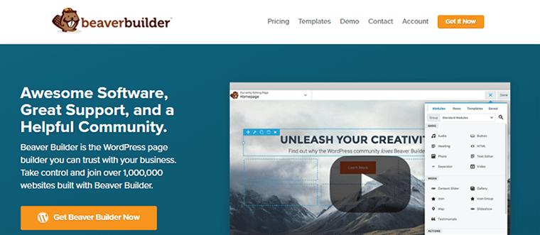 Page Builder Plugin Beaver Builder