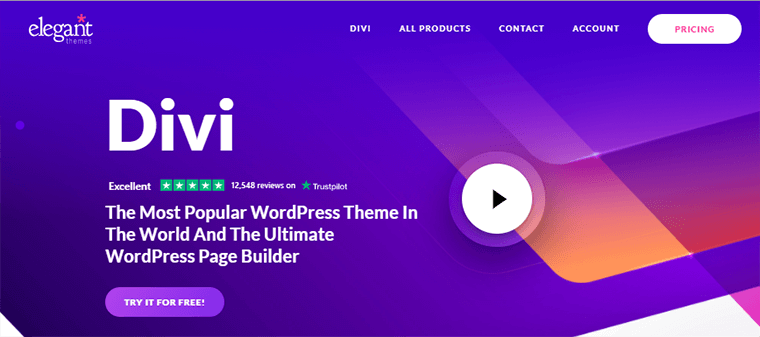 Page Builder Plugin Divi
