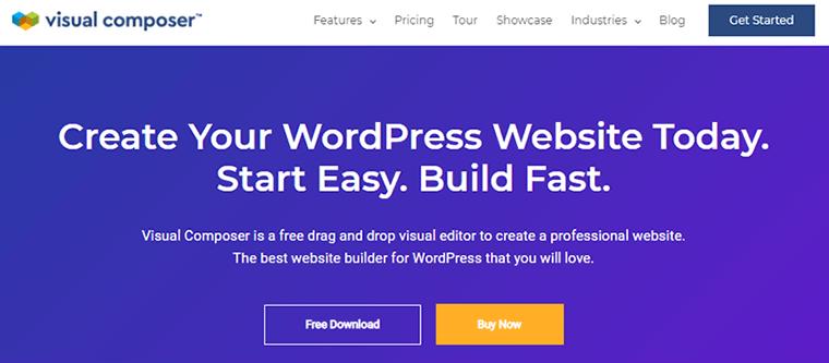 Page Builder Plugin Visual Composer