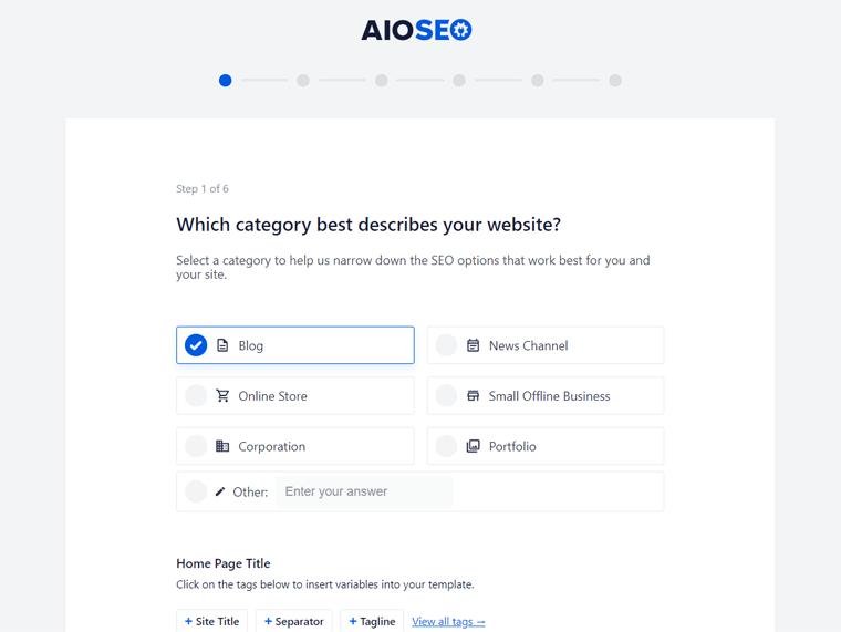 Configure Setting in AIOSEO