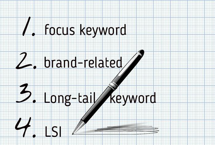Creating Keyword List for Advertising