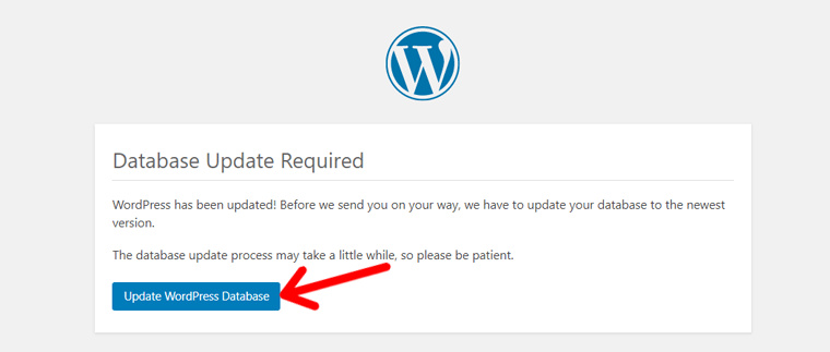 Update WordPress Database After Upgrading to New Version
