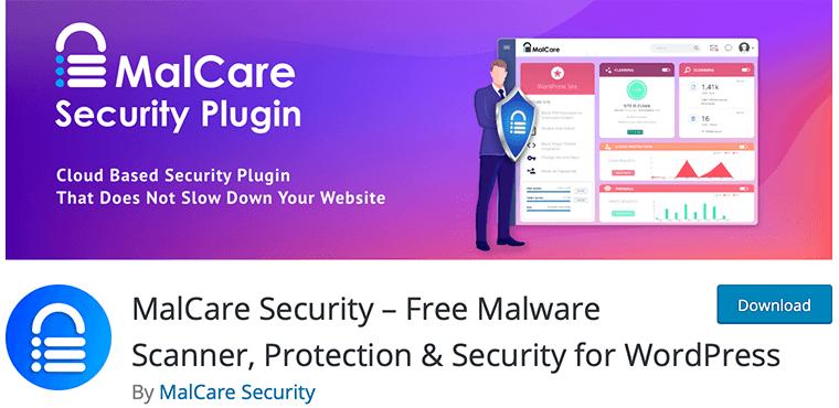 MalCare Security WordPress malware removal plugin
