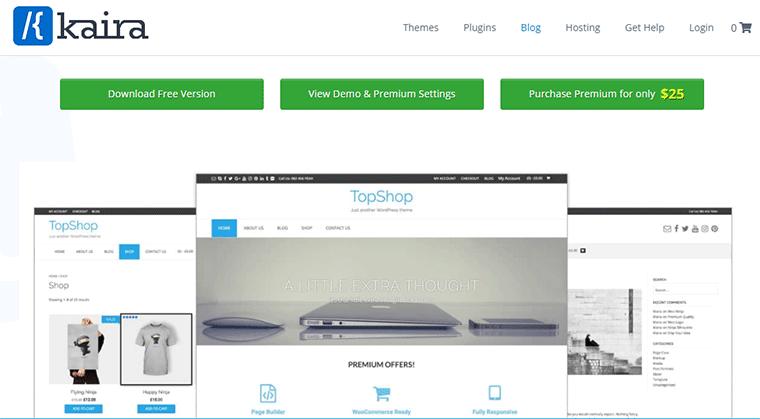 TopShop Best eCommerce WordPress Theme