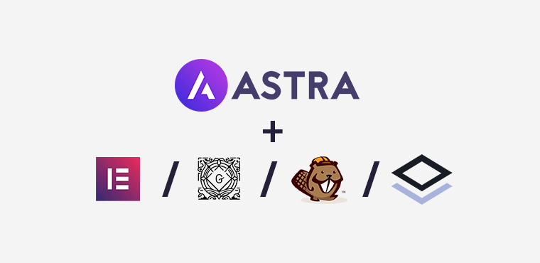 Astra Page Builder Compatibility