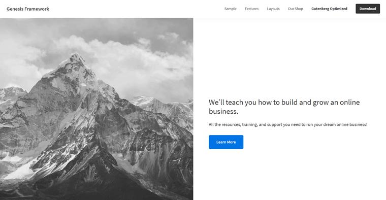 Genesis Framwork WordPress Theme
