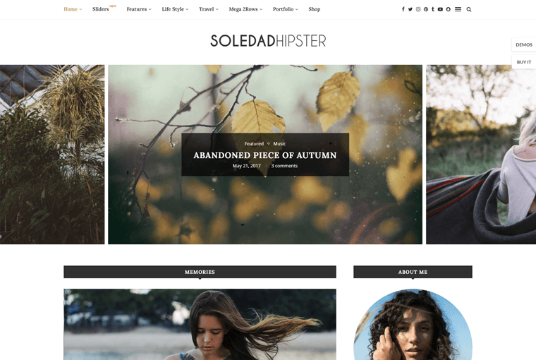 Soledad Best WordPress Blog Magazine Theme