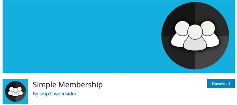 Simple Membership - Free WordPress Membership Plugin