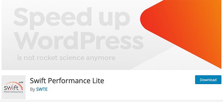Swift Performance WordPress Cache Plugin