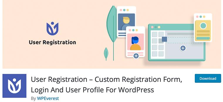 User Registration - Free WordPress Membership Plugin