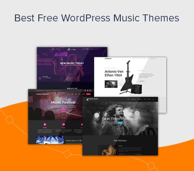 Best Free Music WordPress Themes