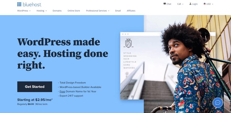 Best Web Hosting Service Provider Bluehost