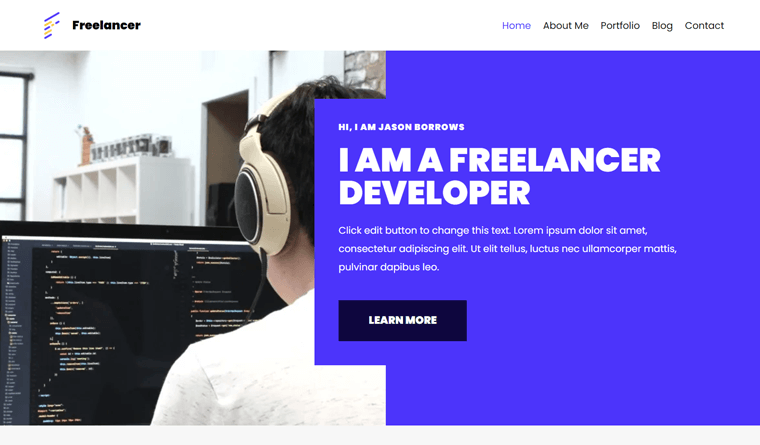 Neve Freelancer WordPress Theme