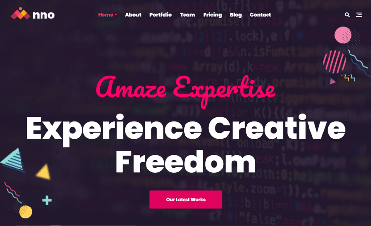 Anno best one page WordPress Themes