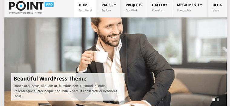 Point - Best Free SEO Optimized WordPress Theme