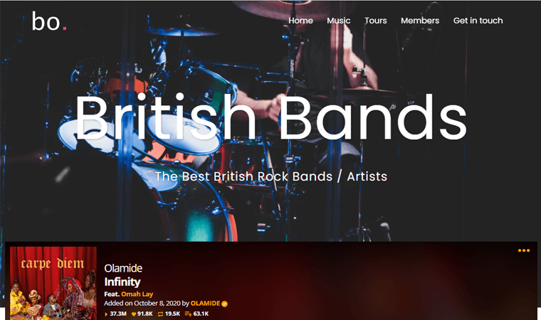 SydneyPro-Band-Theme