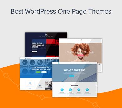 Best WordPress Single Page Themes