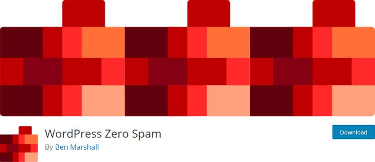 WordPress Zero Spam Plugin Free