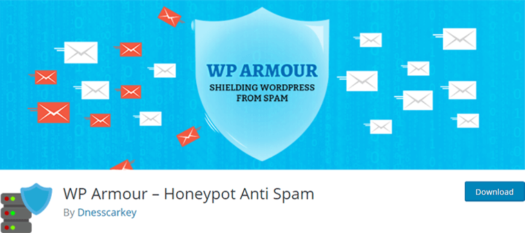 WP Armour Honeypot Anti Spam for WordPress Comments Forms