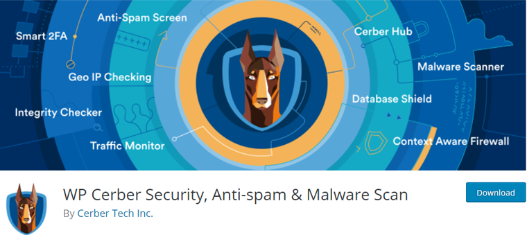 WP Cerber Security, Anti-spam & Malware Scan