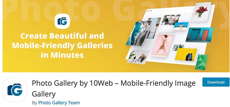 Photo Gallery by 10Web - Google Photos WordPress Plugin