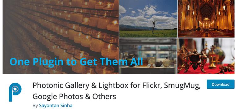 Photonic Gallery - Google Photos WordPress Plugin