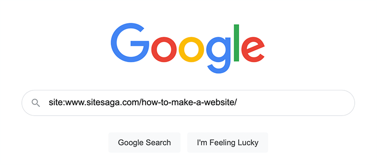 Search Your Deleted Post in Google