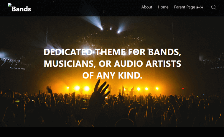 Bands Best Podcast WordPress Theme & Templates