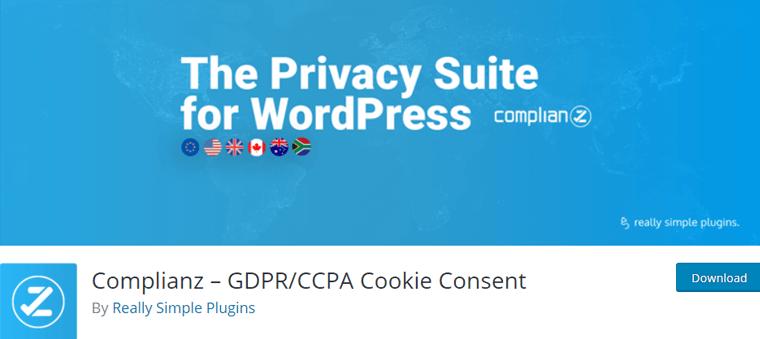 Complianz Best WordPress Cookie Consent Plugin
