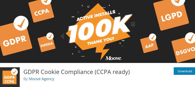 GDPR Cookie Compliance Best WordPress Cookie Consent Plugin