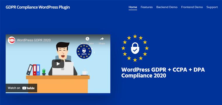 Ninja GDPR Complianz Best WordPress Cookie Consent Plugin