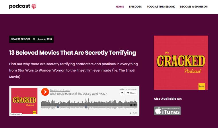 Podcast Best Podcast WordPress Themes & Templates