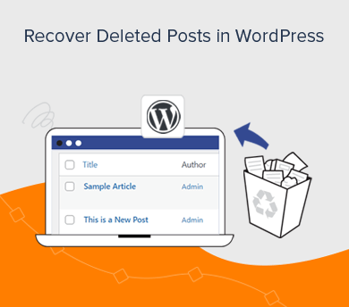 Recover Permanently Deleted Pages/ Posts