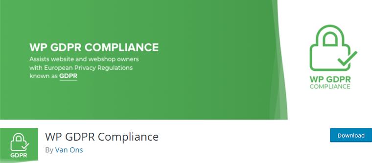 WP GDPR Compliance Best WordPress Cookie Consent Plugin